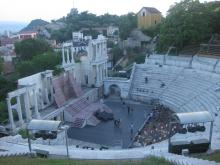 The Ancient Theatre - panoramic view / D. Georgieva
